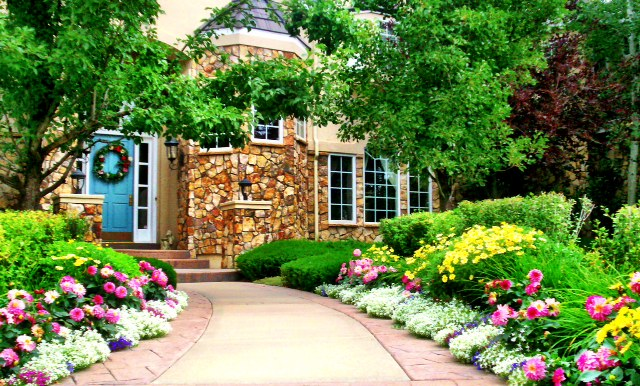 Lovely ... Make Sure Your Gardens Are Always Picture Perfect. With A Wide Variety  Of Flowers And Foliage, We Will Create The Perfect Garden To Showcase Your  Home, ...